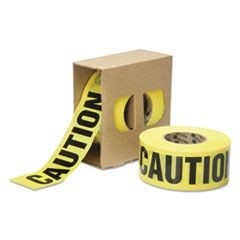 "9905016134243, Caution Barricade Tape, 3 mil Thick, 3"" w x 1000 ft, Roll"