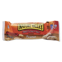 Granola Bars, Sweet & Salty Nut Peanut Cereal, 1.2oz Bar, 16/Box
