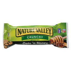 Granola Bars, Oats'n Honey Cereal, 1.5 oz Bar, 18/Box