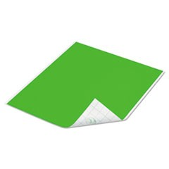 Tape Sheets, Lime, 6/Pack