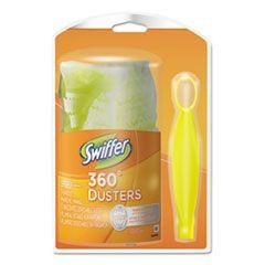 360 Duster Starter Kit, Handle with One Disposable Duster, 12 Kits/Carton