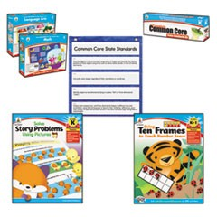 Common Core Kit, Math/Language, Kindergarten