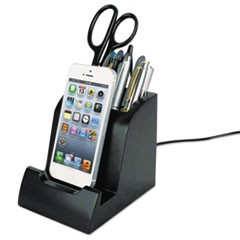 Smart Charge Dock with Pencil Cup for Apple Lightning Devices