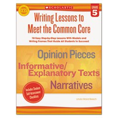 Common Core Writing Lessons, Grade  5