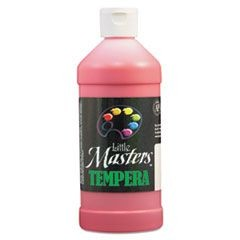 Tempera Paint, Red, 16 oz