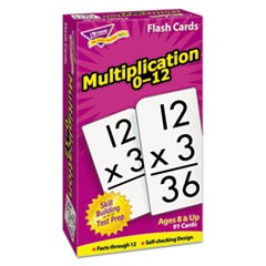 1Skill Drill Flash Cards, 3 x 6, Multiplication