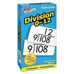 1Skill Drill Flash Cards, 3 x 6, Division