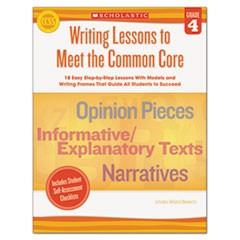 Common Core Writing Lessons, Grade 4