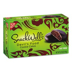 SnackWell's Cookies, Devils Food, 6.75 oz Box, 12/Carton