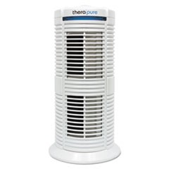 Therapure TPP220M HEPA-Type Air Purifier/Ionizer, 70 sq ft, Three-Speed Fan