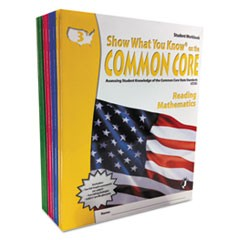 Common Core Assessment Reference Kit, Math/Reading, Grades 3-6, 1280 Pages