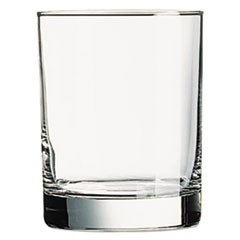 Riviera Beverage Glasses, 14oz, Clear, 6/Box
