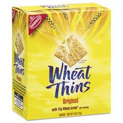 Wheat Thins Crackers, Original, 4 oz Box, 12/Carton