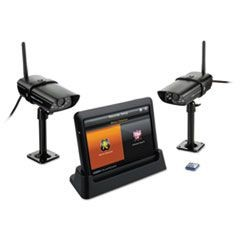 "Guardian G755 Wireless Video Surveillance System, 7"" LCD Monitor"