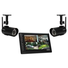 "UDS655 Digital Wireless Video Surveillance System, 7"" LCD Monitor"