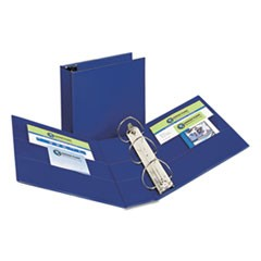 Durable Binder with Two Booster EZD Rings, 11 x 8 1/2, 4