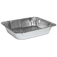 Half Size Aluminum Steam Table Pan, Deep, 100/Carton
