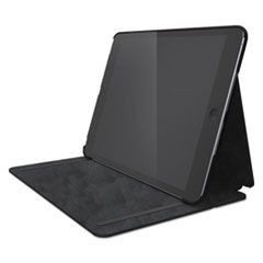 Hard Folio Case and Adjustable Stand for iPad 5, Slate Gray
