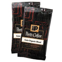 Coffee Portion Packs, Gaia Organic Blend, 2.5 oz Frack Pack, 18/Box