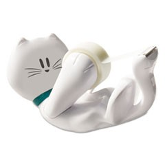 "Kitty Tape Dispenser, 1"" Core for 1/2"" and 3/4"" Tapes"