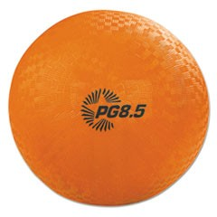 "Playground Ball, 8 1/2"" Diameter, Orange"