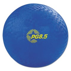 "Playground Ball, 8 1/2"" Diameter, Blue"