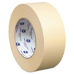 "Lacquer-Resistant Masking Tape, 1.88"" x 60yd, Beige, 24/Carton"
