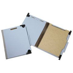 7530013723102, Hanging File Folder, Letter, 4 Sec, 2/5 Cut Top Tab, Blue, 10/BX