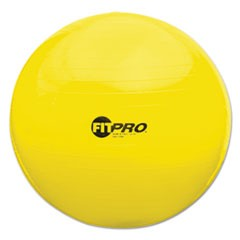 FitPro Ball Chair, 75cm, Yellow