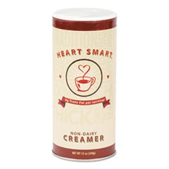 Heart Smart Creamer, 12 oz Canister, 24/Carton