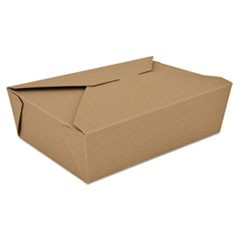 ChampPak Retro Carryout Boxes, Kraft, 7-3/4 x 5-1/2 x 2-1/2, Brown