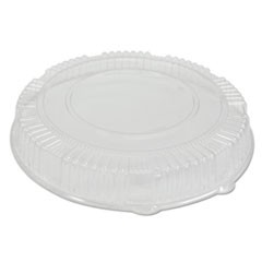 "Caterline Dome Lids, Plastic, 18"" Diameter x 2-3/4""High, Clear"