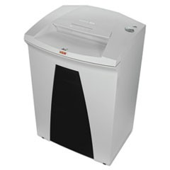 "SECURIO B34 1/4"" Strip-Cut Shredder, Shreds up to 37 Sheets, 26.4-Gal Capacity"