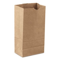 "Grocery Paper Bags, 47lb, Natural, 7 3/4"" x 4 13/16"" x 16"", 3000/Carton"