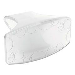 Eco-Fresh Bowl Clip, Honeysuckle Scent, Clear, 12/BX, 6 BX/CT