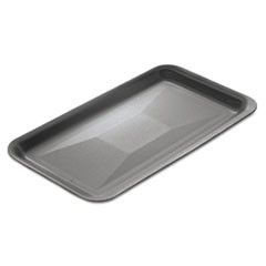 "Supermarket Trays, Foam, White, 13 7/8"" x 10"" x 1 1/4"", 100/Carton"