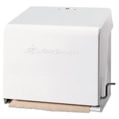 1Mark II Crank Roll Towel Dispenser, 10 3/4 x 8 1/2 x 10 3/5, White