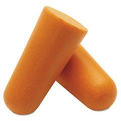 Earplugs, Foam, Disposable, Bullet Shaped, 200/Pack