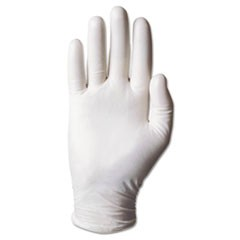 Dura-Touch 5 Mil PVC Disposable Gloves, Medium, Clear, 100/Box
