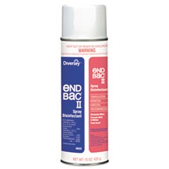 Disinfectant/Sanitizer Spray, End Bac II