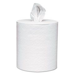 Roll-Control Center-Pull Towels, 8 x 12, White, 700/Roll, 6 Rolls/Carton
