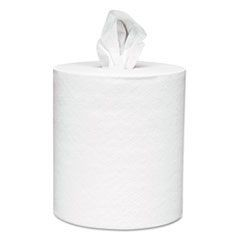 Center-Pull Towels, 8 x 15, White, 250 Sheets/Roll, 6 Rolls/Carton
