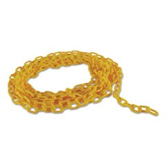 "Barrier Chain, Yellow, 20"" L"