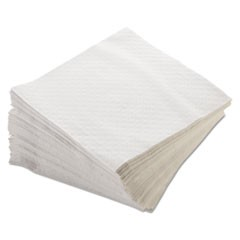 Morsoft 1/4 Fold Lunch Napkins, 1-Ply, 15 x 17, White, 250/Pack, 16 Packs/Carton