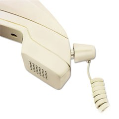 Twisstop Detangler w/Coiled, 25-Foot Phone Cord, Ivory