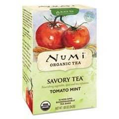 Savory Tea, Tomato Mint, 1.85 oz Teabag, 12/Box