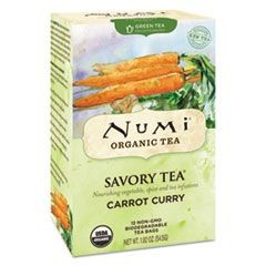 Savory Tea, Carrot Curry, 1.85 oz Teabag, 12/Box