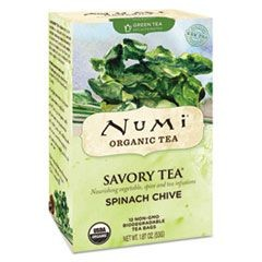 Savory Tea, Spinach Chive, 1.85 oz Teabag, 12/Box