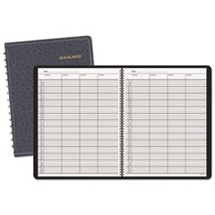 Four-Person Group Undated Daily Appointment Book, 8 1/2 x 11, White,