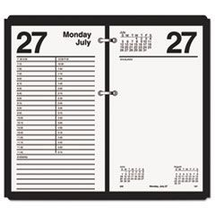 Large Desk Calendar Refill, 4 1/2 x 8, White, 2016